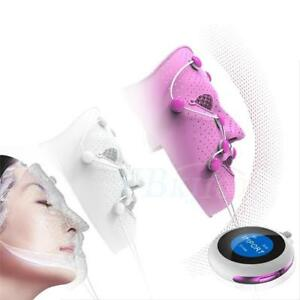 spa electric massager ems photon vibration facial mask