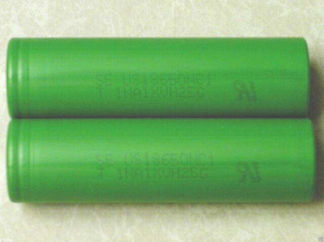 4 SONY US 18650 NC1 HIGH DRAIN 10A RECHARGEABLE 18650 Battery 2900mAh w/CASE