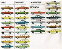 1975 Dodge Brochure / Catalog : Monaco,coronet,500,charger,dart Hang 10,se,wagon