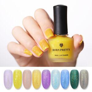 BORN-PRETTY-6ml-Matt-Micas-Nail-Polish-Irregular-Sequins-Nail-Art-Varnish-Tips