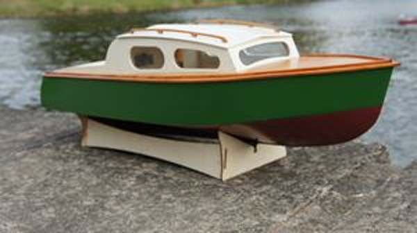 Sea Scout Boat Model Wooden Wooden Wooden boat kit Lesro models Les Rowell 05989a