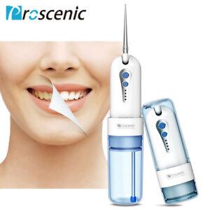 Proscenic Idropulsore Dentale Orale Pulizia 5 Mode Portatile Irrigatore Waterjet