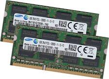Samsung 16Gb 2x 8Gb DDR3L Ram Speicher 1600 MHz Notebook SoDimm 204pin Pc3-12800