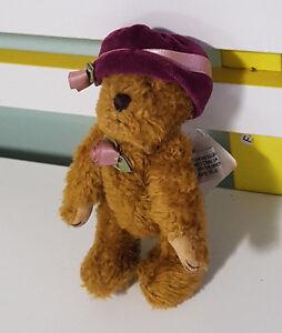 SETTLER-TEDDY-BEAR-PRECIOUS-SOFT-CUTE-PLUSH-TOY-WITH-TAG-16CM-TALL