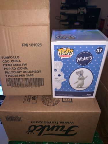 Ad Icons Pillsbury Doughboy 12 Days of Christmas Exclusive Funko POP