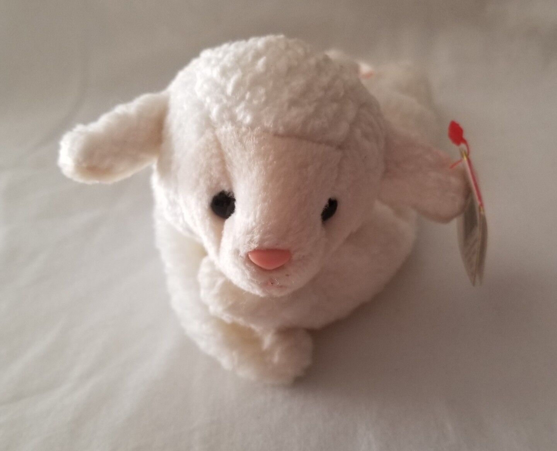 0Ty Beanie Baby Fleece The Lamb With Errors