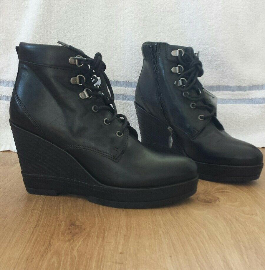Women's GEOX women Armonia Wedge Ankle boots  color size 6 BNWOB
