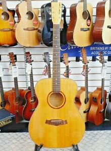 2012-Tanglewood-TWF-SPLE-Electro-acoustic-Guitar-Solid-Spruce-amp-Spalted-Maple