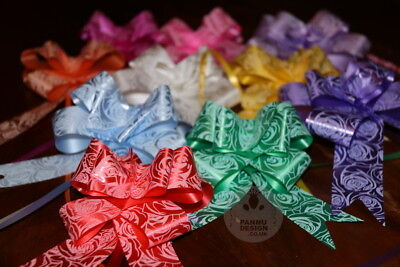 Large 50mm Party Pull Bows Weddings Party Floristry Wrap Ribbon UK SELLER ML