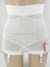 SASSY VINTAGE PRIMSTYLE CROSS FRONT PANTIE GIRDLE W/4 GARTERS NOS W/TAGS  XL