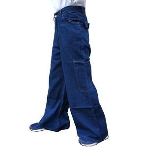Hop gamba anni Baggy Denim larga New '90 Mega Y2k Mens Skater Hip Street Jeans Womens PpqFxnwSqa