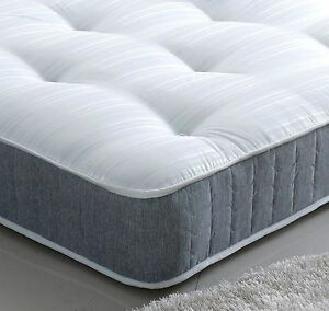 Orthopaedic-10in-Spring-Mattress-Damask-Fabric-UK-size-2ft6-3ft-4ft-4ft6-5ft