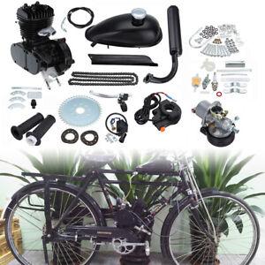 2 Takt 80CC Motorisierte Gas Moteur Fahrrad Benzin Hilfsmotor Bike Engine Kit