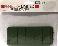 Renedra Generics - 25mm x 50mm Wargaming Bases (15)
