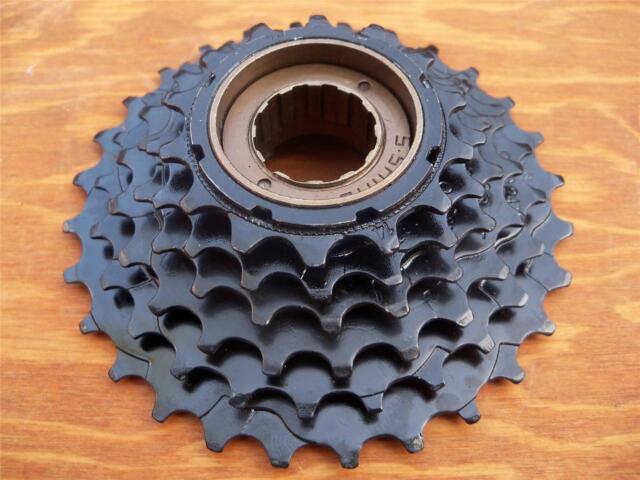 New Black Bicycle Road Mountain Bike 7 Speed Freewheel Gears Sprockets