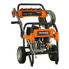 Generac 9488 - 4200 PSI 4.0 GPM Pressure Washer | Pro-grade | hose + 5 nozzles