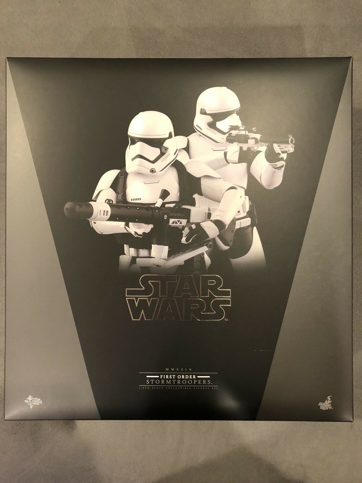Hot Toys 1 6th Star Wars - First Order Stormtroopers Set MMS319