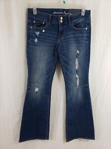 AE-American-Eagle-Artist-Stretch-Womens-Denim-Blue-Jeans-Size-31x30-Boot-Cut-NWT