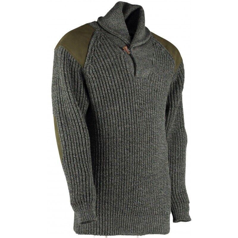 Sandringham Shawl Collar Sweater 100% British wool