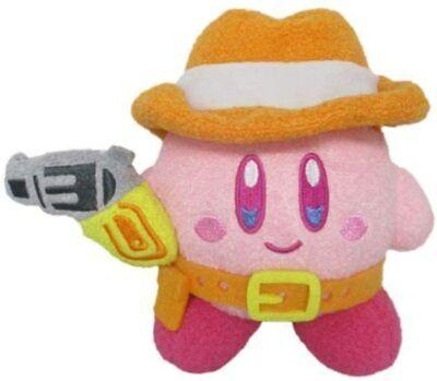 Three British Trade Star Kirby KIRBY MUTEKI SUTEKI CLOSET Gunman Plush