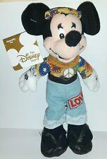 HIPPIE MINNIE DISNEY PLUSH 24Cm. Peluche Topolino Figure Mickey Mouse Pupazzo