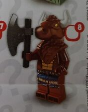 Lego 8827 Series 6 #8 Greek Mythology MINOTAUR figure Minifigure New Sealed Pack