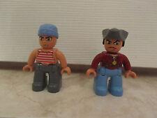 Lego Duplo Pirate Captain Men People Figure Lego Ville Lot Set