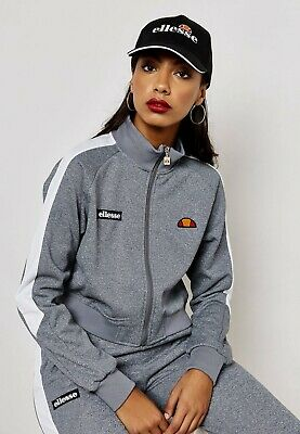 Ellesse Womens Pinzolo Funnel Neck Track Top Indigo Active Wear SGY05500 IND | eBay