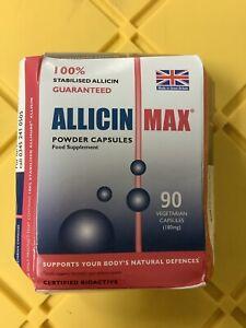Details about Allicin Max 90 Veg Caps