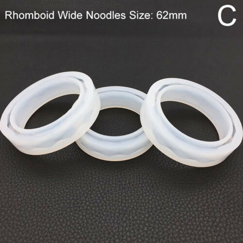 Silicone Jewelry Making Mold Bracelet Bangle Resin Casting Epoxy Mould Tool DIY