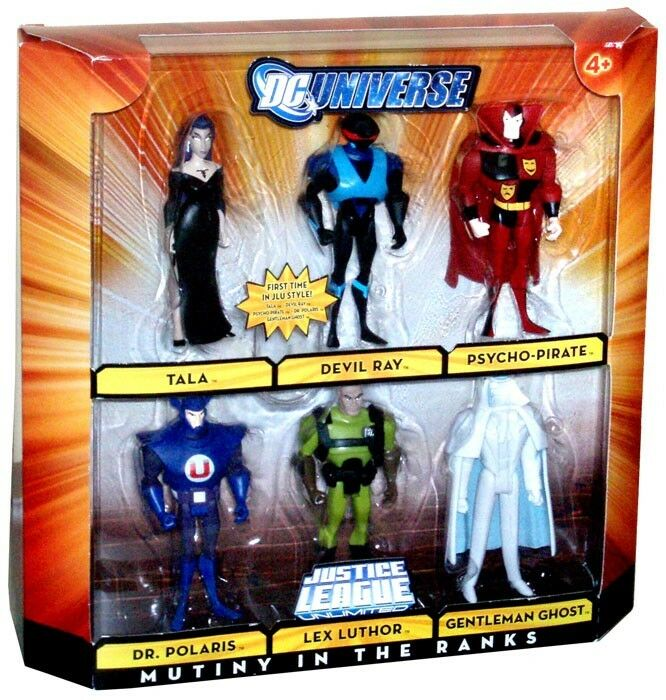 DC Universe Justice League Unlimited mutinerie dans les rangs Action  Figure Set  chaud