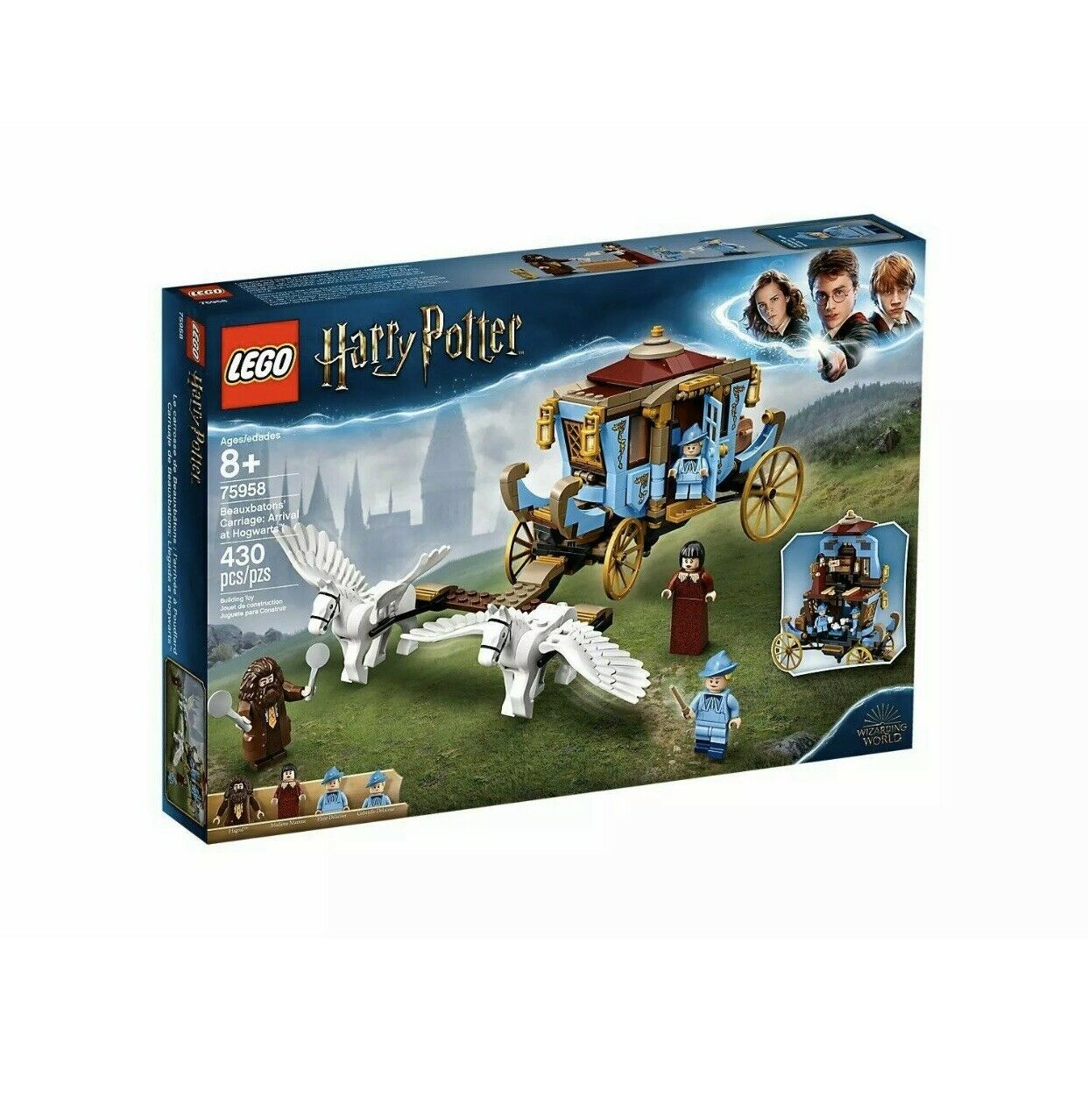 LEGO Harry Potter Beauxbatons autoriage Arrival at Hogwarts 75958 gratuito SHIPPING