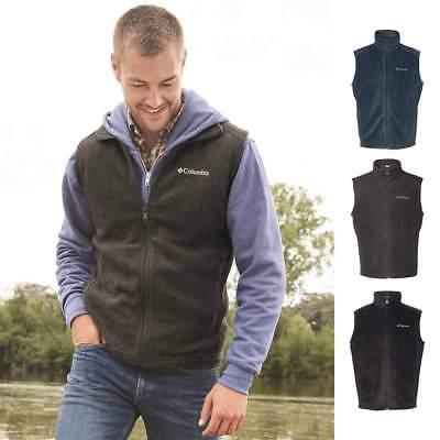 163926 Columbia Steens Mountain Full Zip Men/'s Fleece Vest