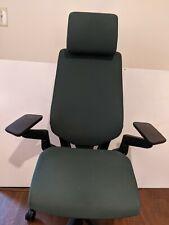 Steelcase Gesture Chair Adjustable Lumbar With Headrest