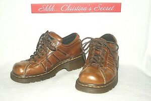 DR-MARTENS-Unisex-Oxford-Shoes-Leather-Brown-11306-Womens-7-Mens-6-G-VG