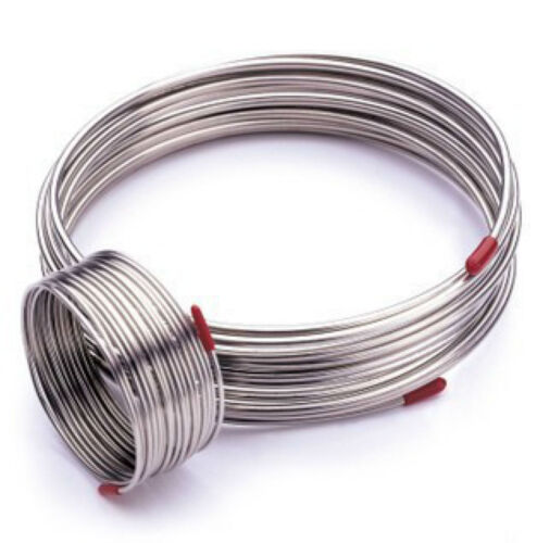 1m T304 304 Stainless Steel Hose Trachea Coil Capillary Tube OD 3x0.5mm # GY