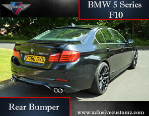 Bmw 5 Series F10 Rear Bumper Rear Lip Conversion Tuning Ebay