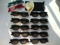 10 Pairs Adult +2 Kids(gift) Passive 3d Glasses Work For Vizio Lg Passive 3d Tv