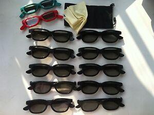 10-Pairs-Adult-2-Kids-gift-Passive-3D-Glasses-work-for-VIZIO-LG-Passive-3D-TV