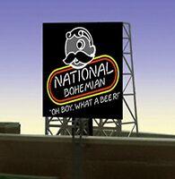 Natty Boh Beer Animated Billboard 33-8845 Z Or N Scale Miller Engineering