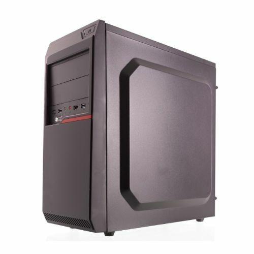 NEW! Riotoro CR100BE Atx Case 1 X Usb 3.0 2 X Usb 2.0 Large Interior Black