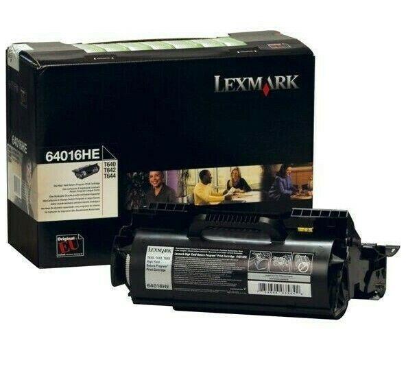 Original Toner Lexmark 64016HE T640 T642 T644