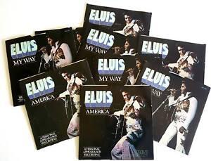 ELVIS-PRESLEY-America-My-Way-45-rpm-Near-Mint
