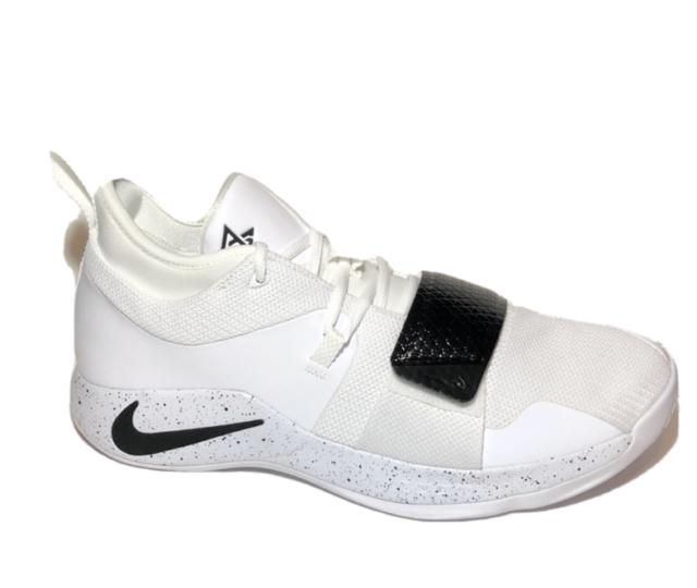 Nike PG Paul George 2.5 TB Basketball Shoes White Black Bq8454 100 Size 13