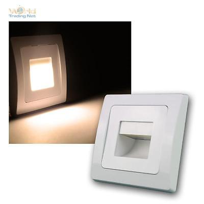 Delphi Led Recessed Lighting Cob White 110lm 80x80mm Wall Mounted Luminaire