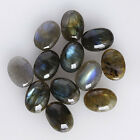 Genuine Labradorite 6X4MM Oval Shape, Calibrated Cabochons AG-209