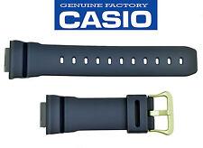 Casio G-Shock watch band original Navy Blue Rubber G-5600NV-2 GW-M-5610NV-2