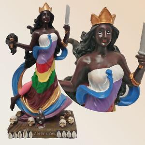 8-034-ORISHA-OYA-GODDESS-OF-WIND-amp-STORM-YORUBA-SANTERIA-AFRICAN-ESTUATUA