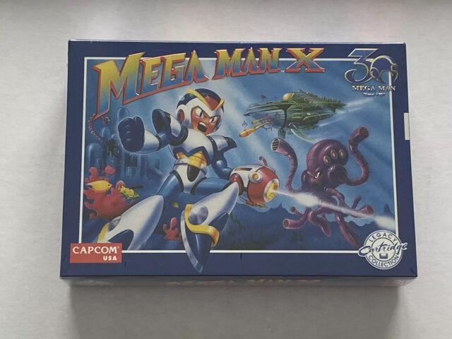 Mega Man X - 30th Anniversary Edition - iam8bit - Brand New Factory Sealed