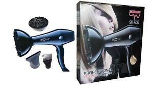 Dettagli su Phon Professionale Asciugacapelli Sonar Sn 7730 2600w Diffusore Fono sus